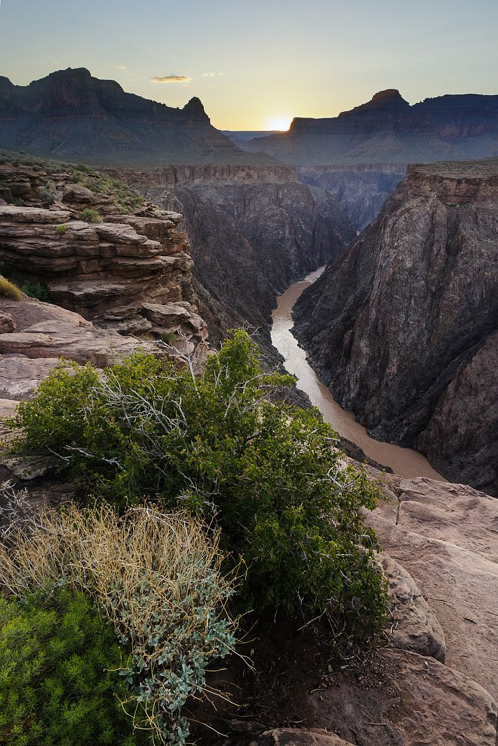 Colorado River from Plateu Point, Grand Canyon NP, Arizona, USA