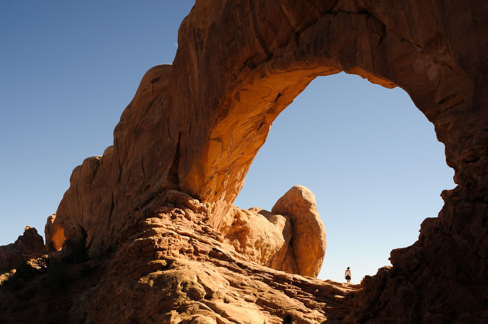 The Windows Section, Arches NP, Arizona, USA