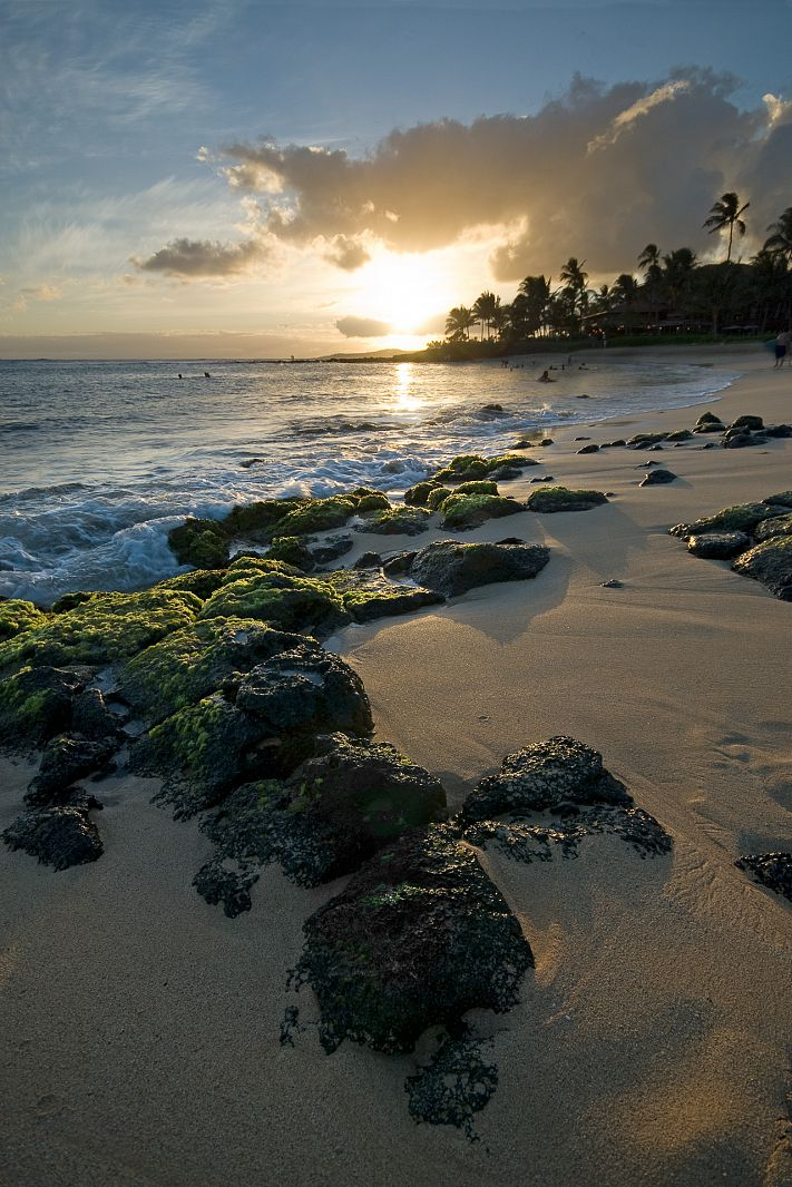 Poipu Beach, Koloa, Hawaii, USA