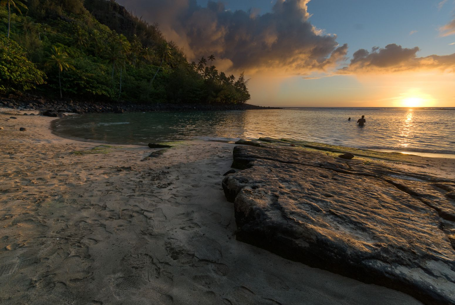 Ke'e Beach, Kauai, Hawaii, USA