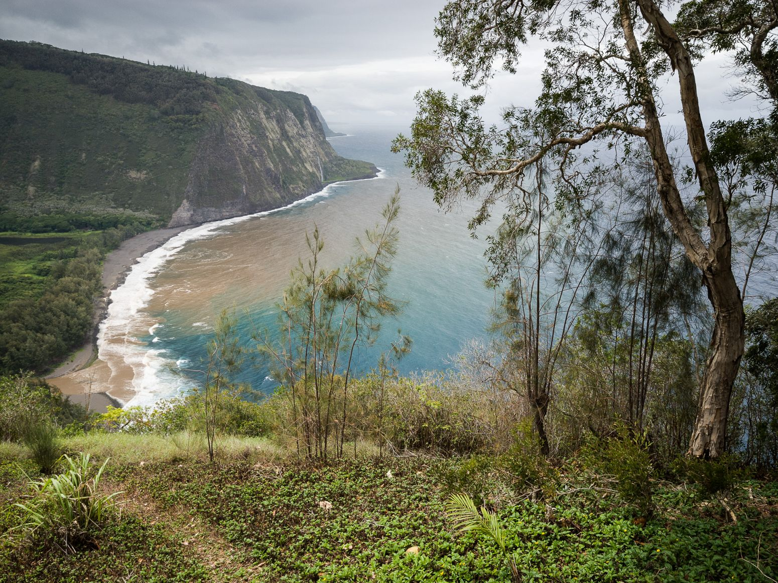 Waipio Valley Lookout, Hawaii, USA