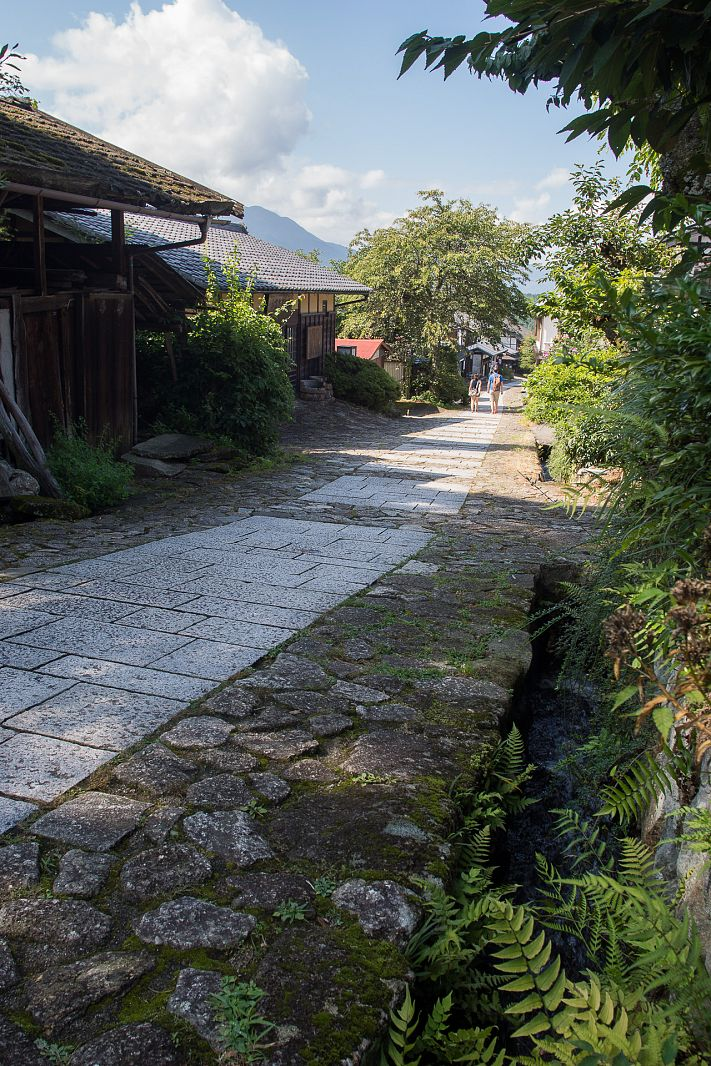 Old city of Magome, Japan
