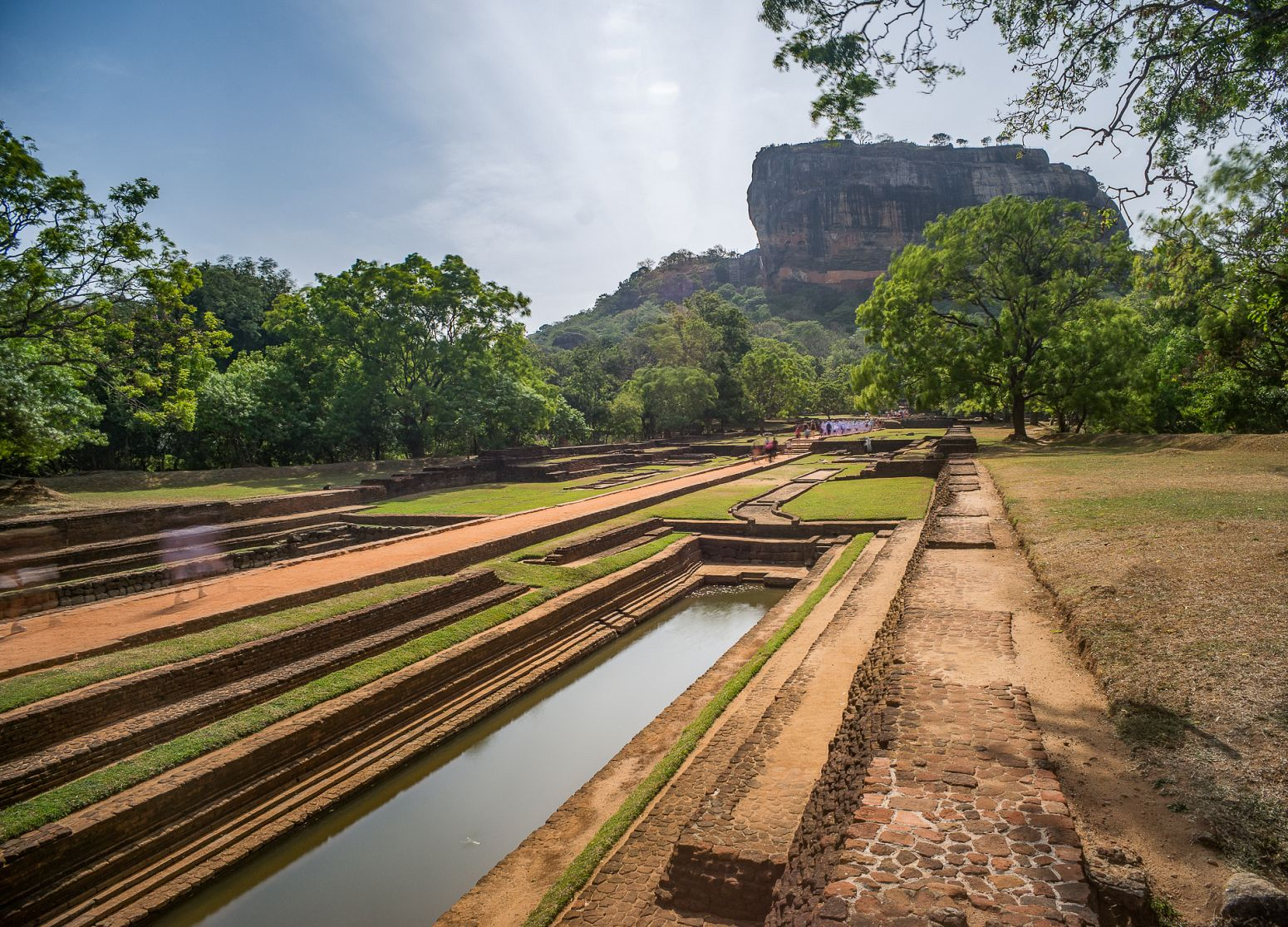 Sigiriya Lion Rock and gardens, Sri Lanka