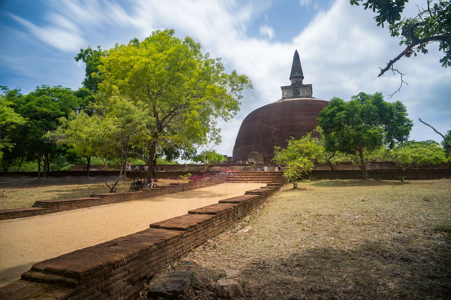 Rankoth Vihara temple, Polonnaruwa, Sri Lanka