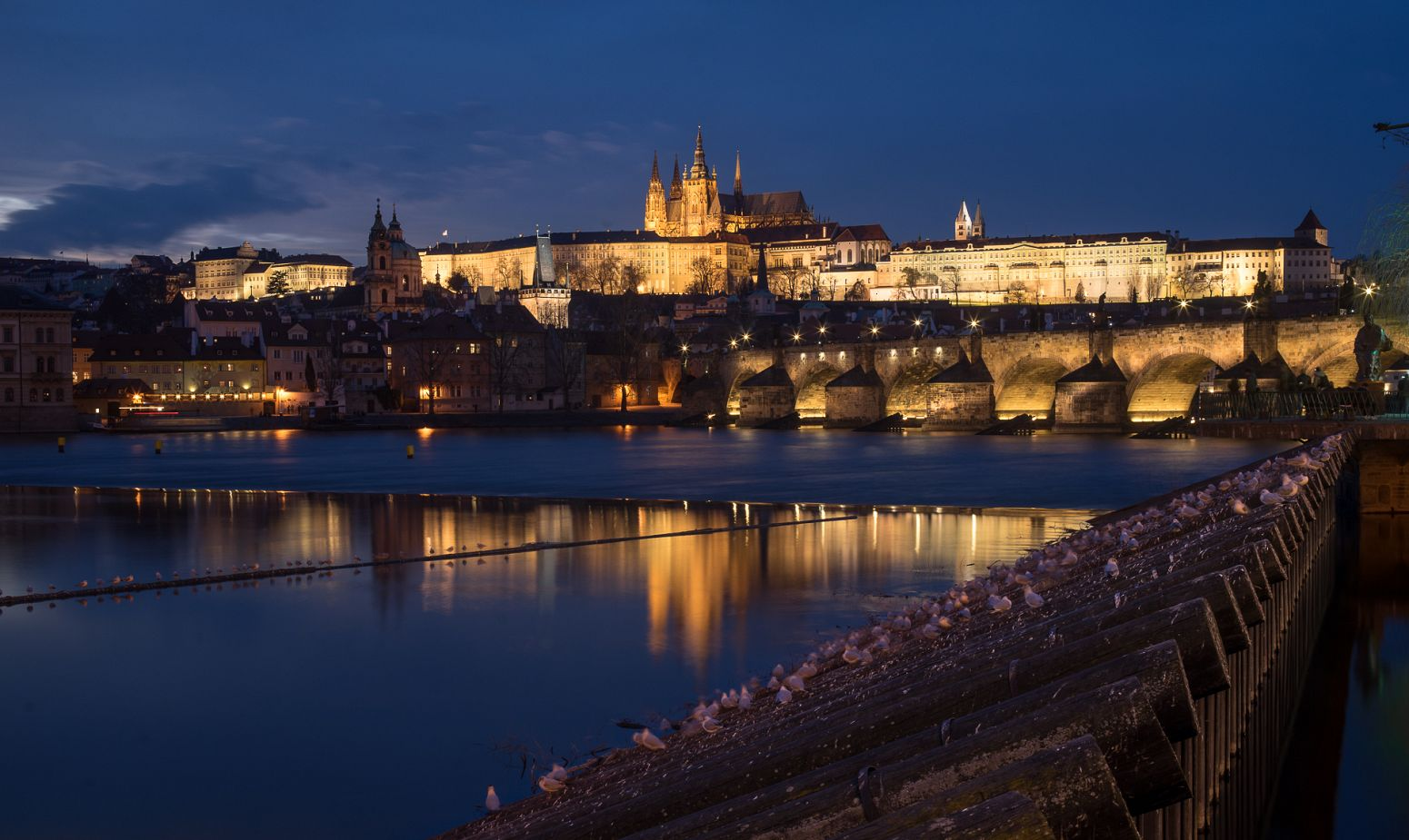 Charles Bridge and Castle, Prague, Czech Republic