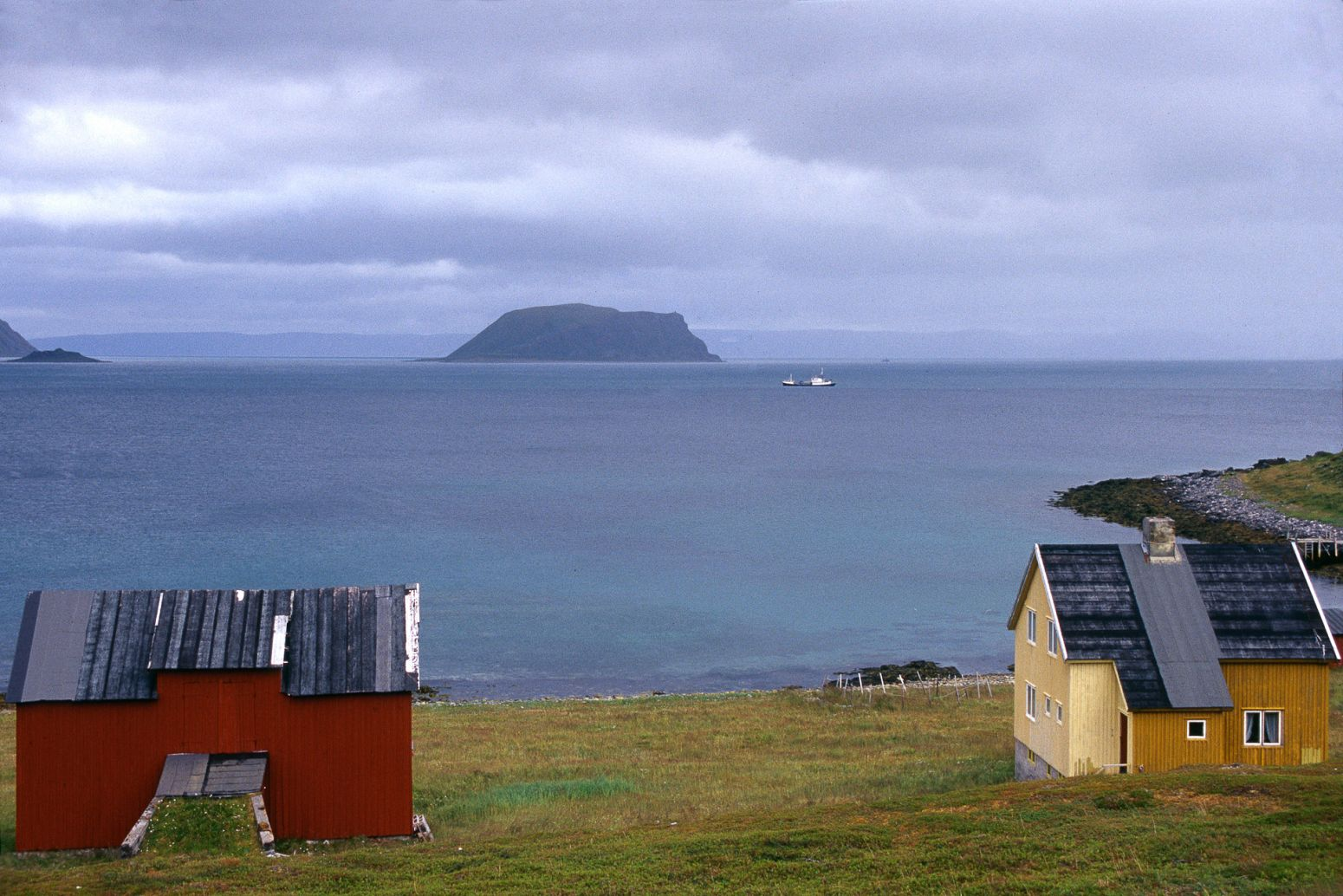 Houses in North Cape, Norway