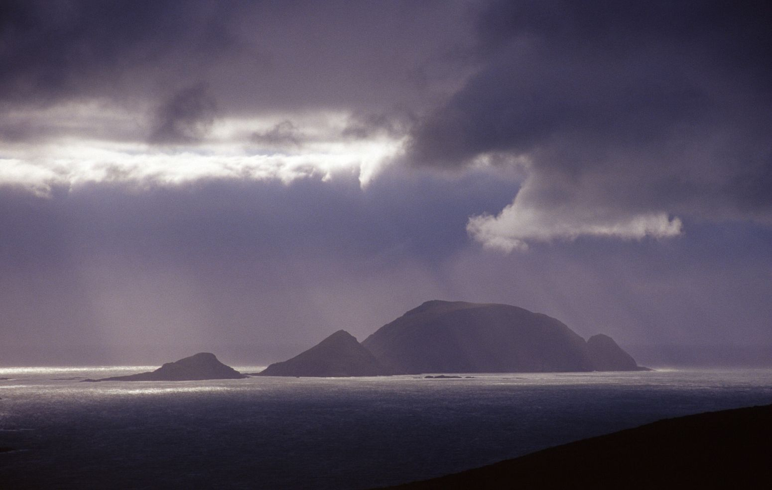 Offshore islands in North Cape, Norway