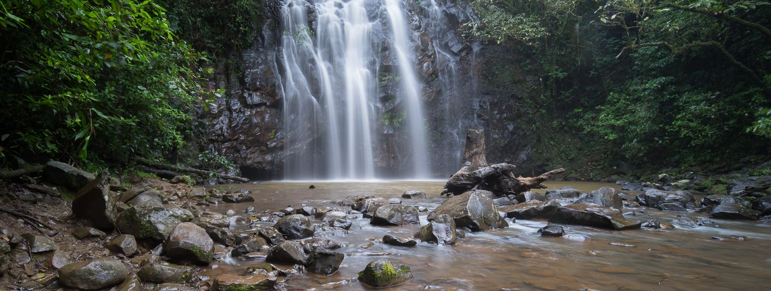 Ellinjaa Falls - part of the Waterfall Circuit, Queensland, Australia