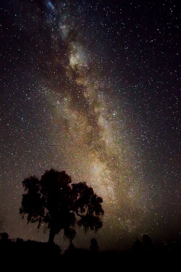 Night sky in Uluru, Northern Territory, Australia