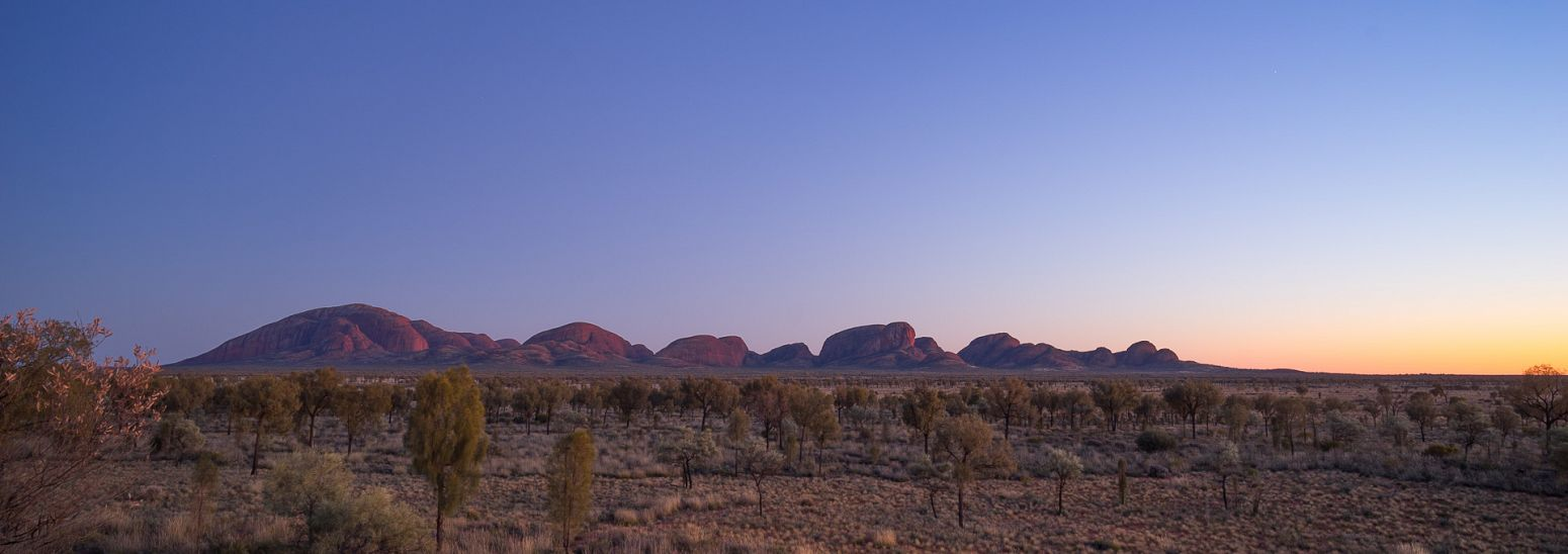 Kata Tjuta at sunrise, Northern Territory, Australia