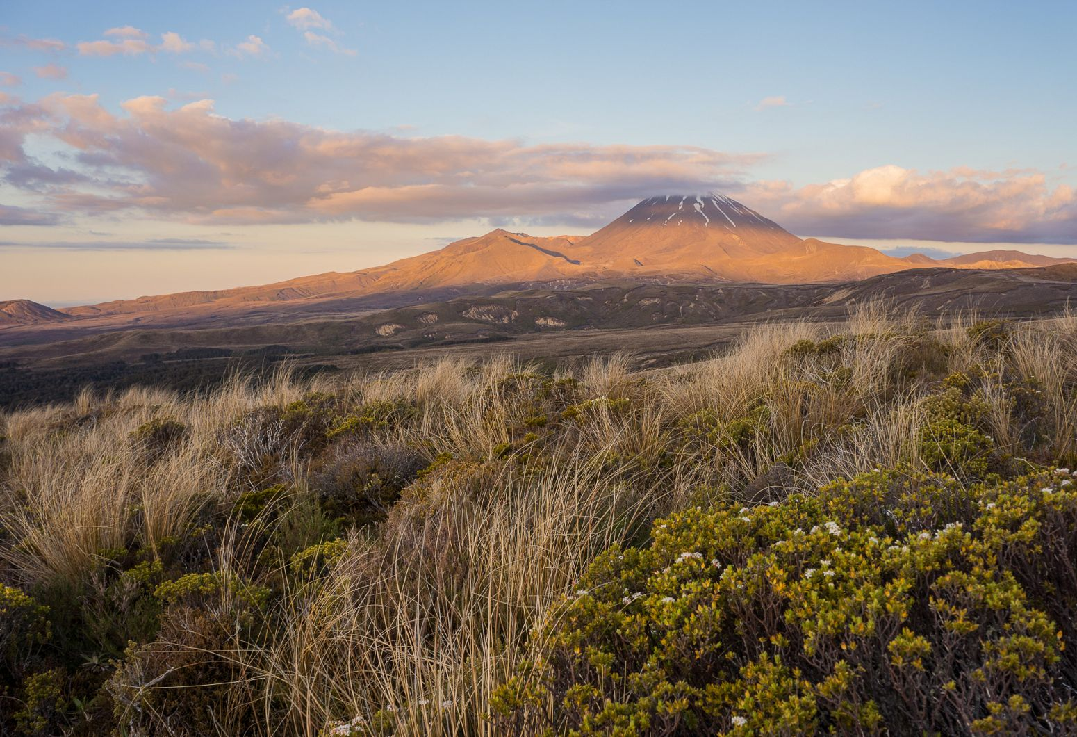 Mt Ngauruhoe in Tongariro NP, New Zealand